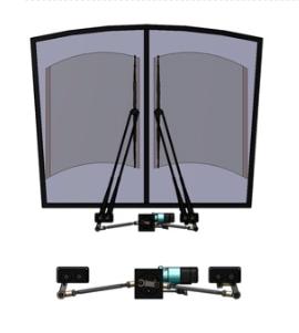Dual Pantograph Wiper