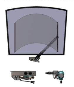 Single Pantograph Wiper
