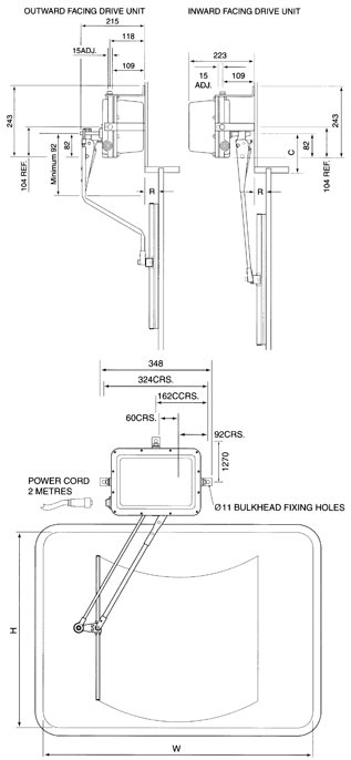 Type 1850 Wiper System Diagram