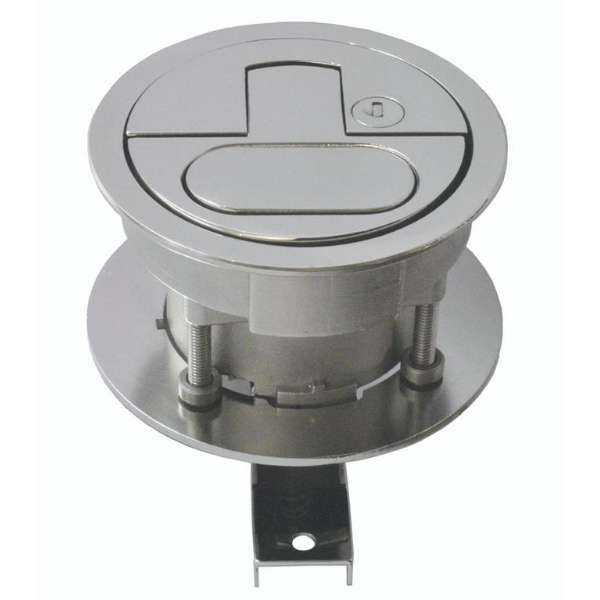 Monitor Marine 100mm Flush Top Lock Hatch Handles